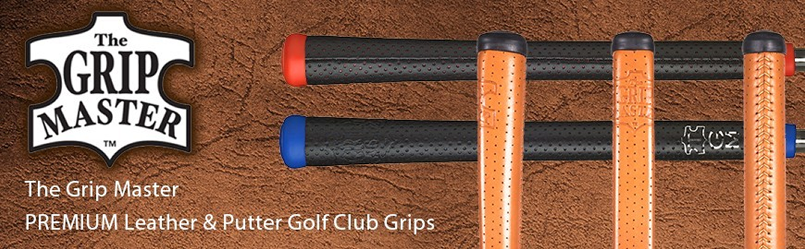 The Grip Master Premium Leather Grips