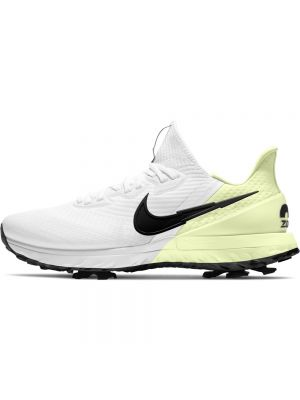 Nike Air Zoom Infinity Golf Shoes - White/Black-Barely Volt-Volt