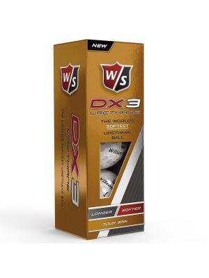 Wilson Staff DX3 Urethane Golf Balls (3 Ball Pack)