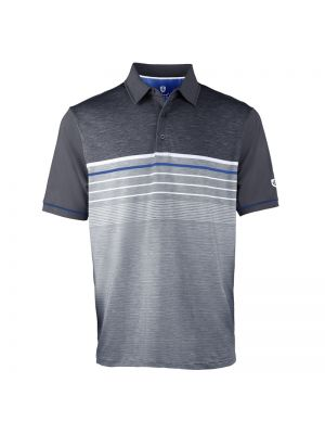Island Green Essentials Sublimated Polo Shirt - Charcoal
