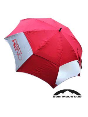 Sun Mountain 2021 Vision Golf Umbrella - Burgundy