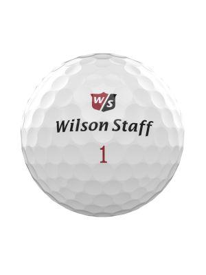 Wilson Staff DX2 Soft Golf Balls - White (3 Ball Pack)