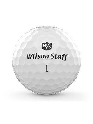 Wilson Staff Duo Professional Golf Balls - White (3 Ball Pack)
