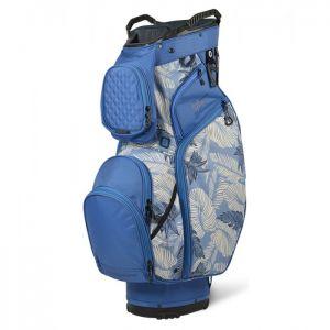 Sun Mountain 2021 Diva Cart Bag - Blue/Tropic Print