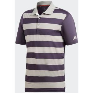 adidas Ultimate 365 Rugby Polo Shirt - Trace Purple/Trace Purple/Grey Heathered @Aslan Golf and Sports