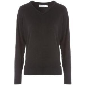 ProQuip AMY Ladies Merino V Neck Sweater - Black