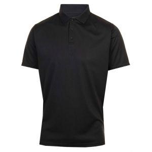 ProQuip Polyester Polo Shirt - Black @Aslan Golf and Sports