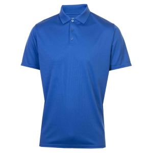 ProQuip Polyester Polo Shirt - Royal Blue @Aslan Golf and Sports