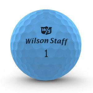 Wilson Staff DX2 Optix Golf Balls - Blue (3 Ball Pack)