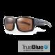 Sundog Shadow Eyeware - True Blue - Matte Black Brown (fit over)