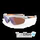 Sundog Bolt Eyeware - True Blue - Matt Silver - Neon Orange / Copper - Lt Blue Mirror