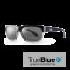 Connoisseur - True Blue - Shiny Black - Crystal / Smoke
