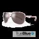 Sundog Freestyle Eyeware - True Blue - Mauve / Smoke Silver Mirror
