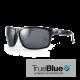 Fringe - True Blue - Shiny Black / Smoke