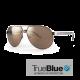 Sundog Uptown Eyeware - TrueBlue - Coffee / Brown Gold