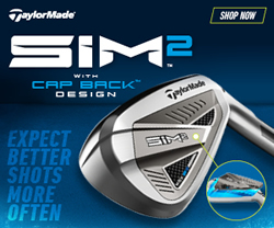 Taylormade Golf SIM2 Irons Banner