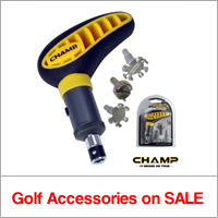 Golf Accesories on Sale