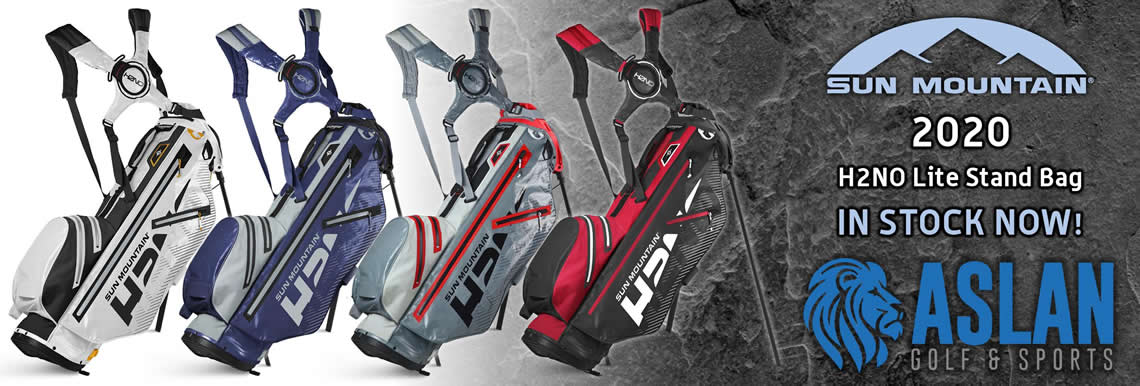 Sun Mountain H2NO Stand Bags 2020